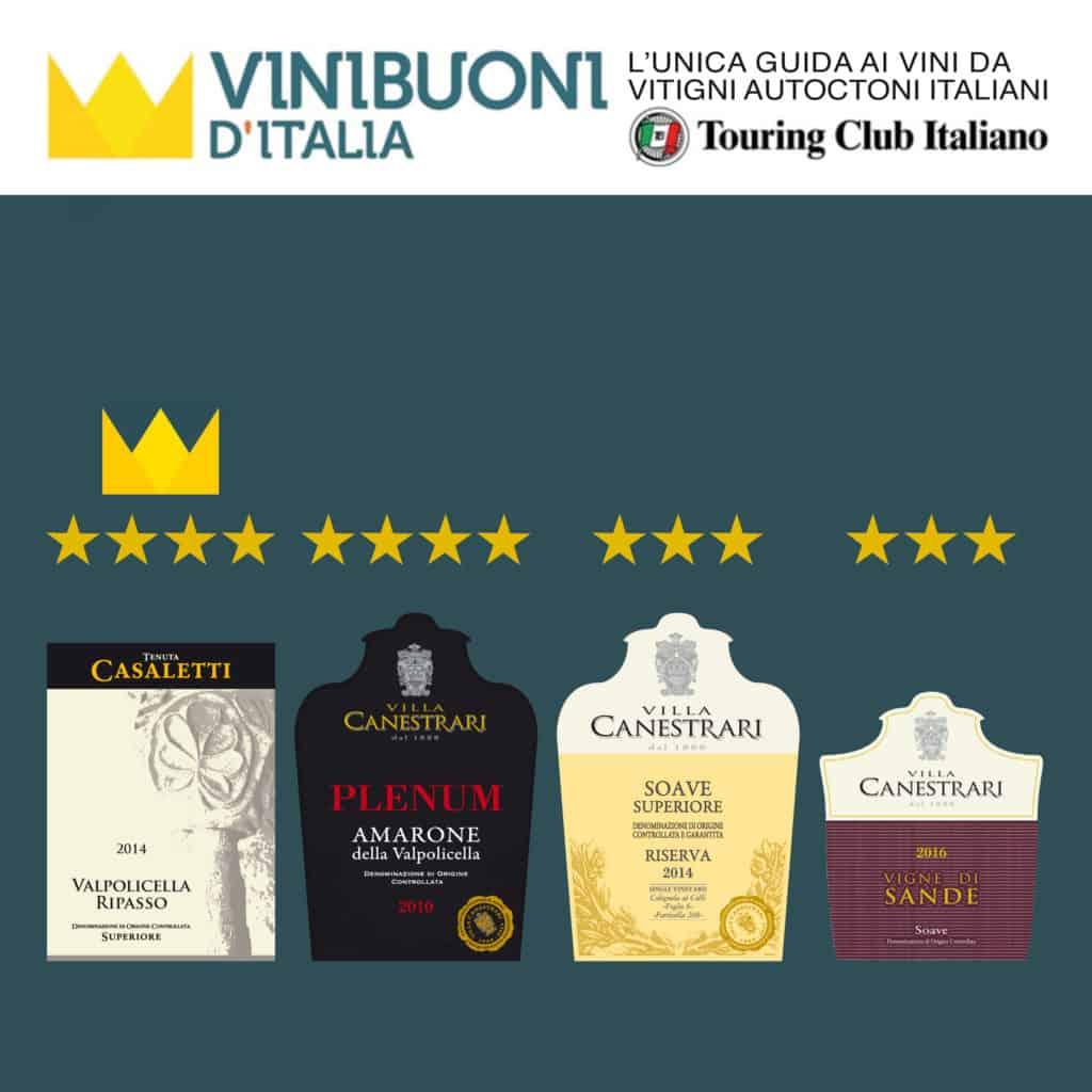 Vini Buoni d'Italia 2017 Villa Canestrari