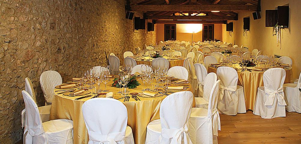 Villa Canestrari museo del vino sala per banchetti