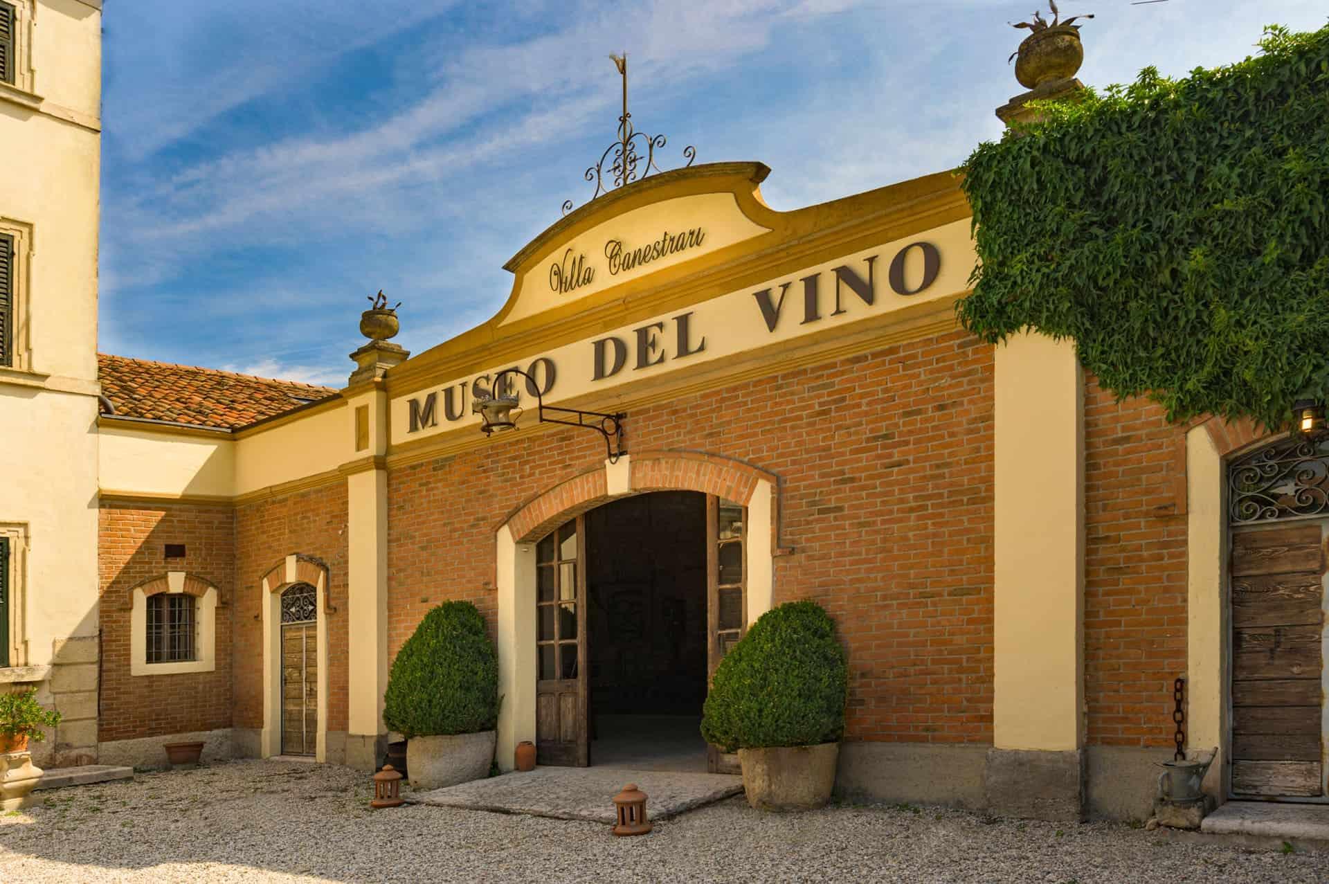 museo del vino verona villa canestrari entrata