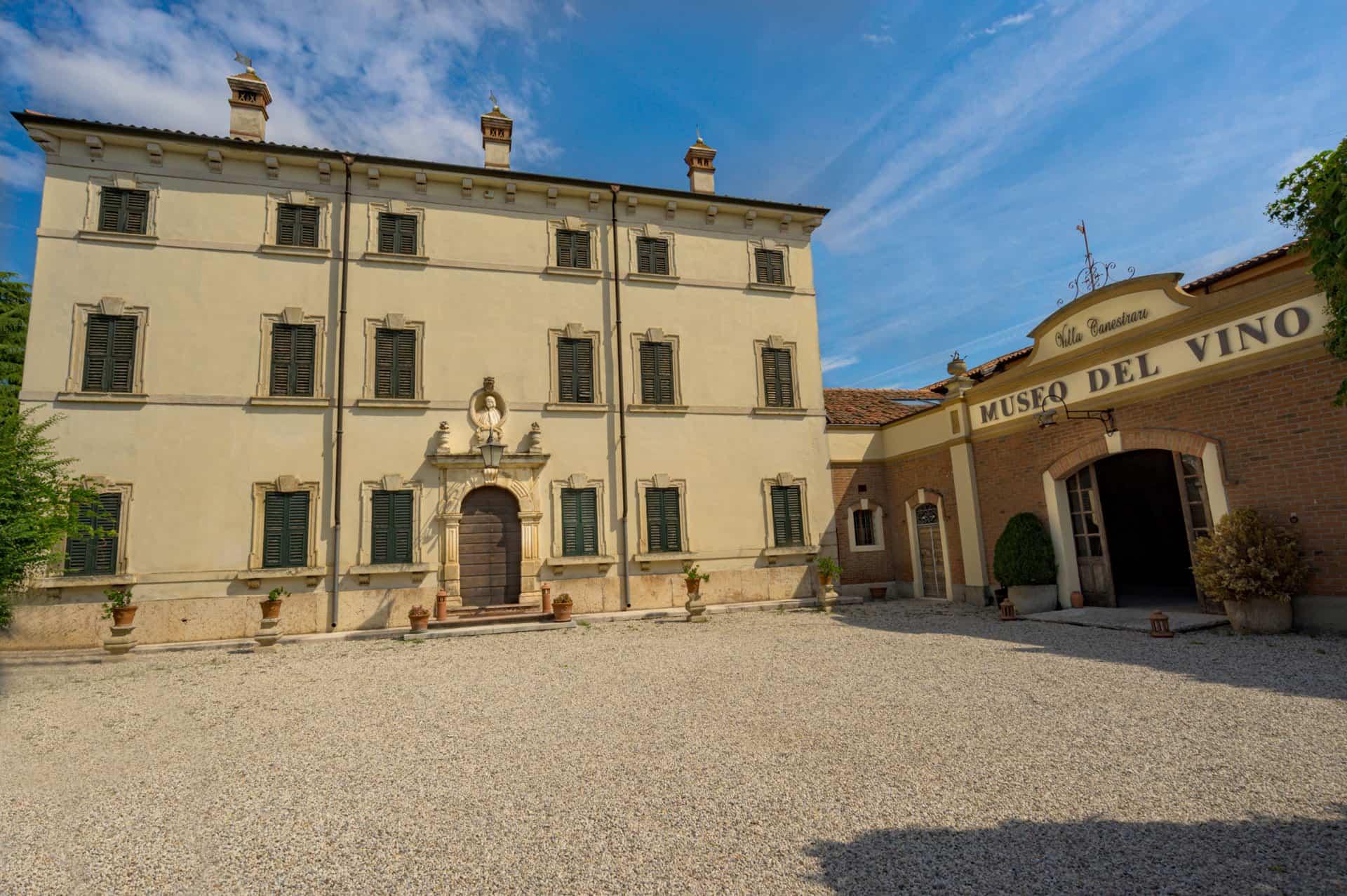 museo del vino verona villa canestrari panoramica