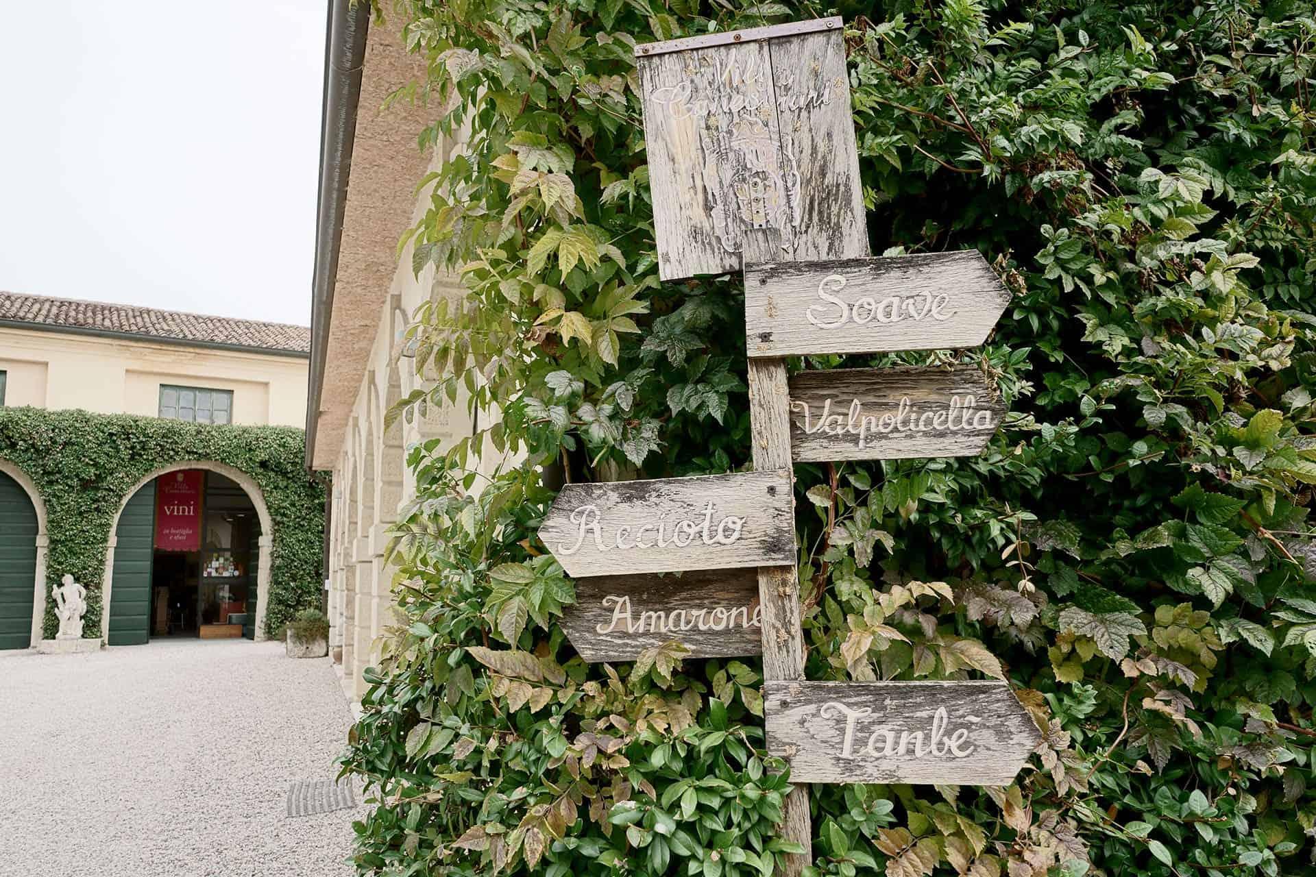 wine shop villa canestrari Colognola ai Colli