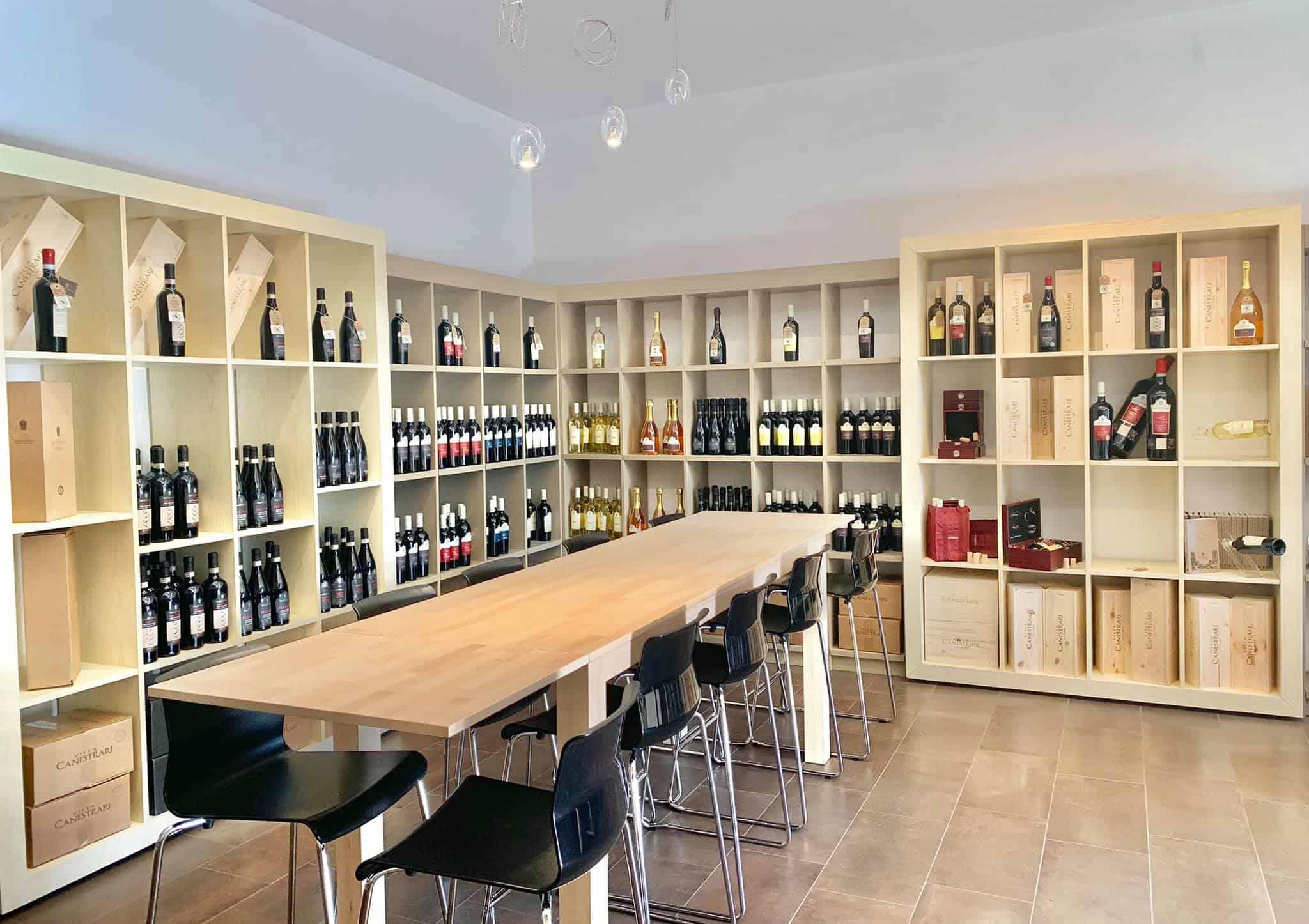 Wine Shop Villa Canestrari