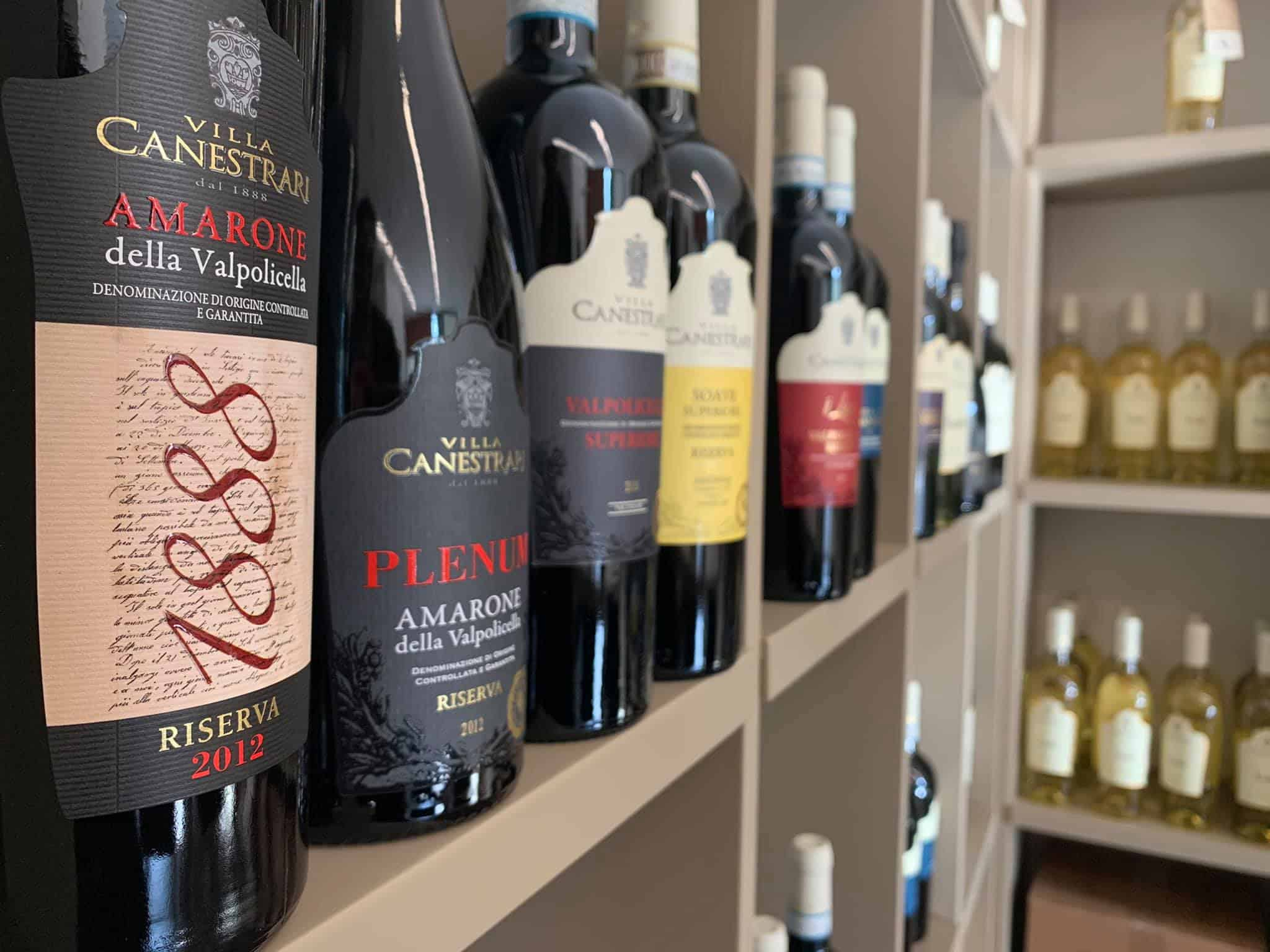 Villa Canestrari wines