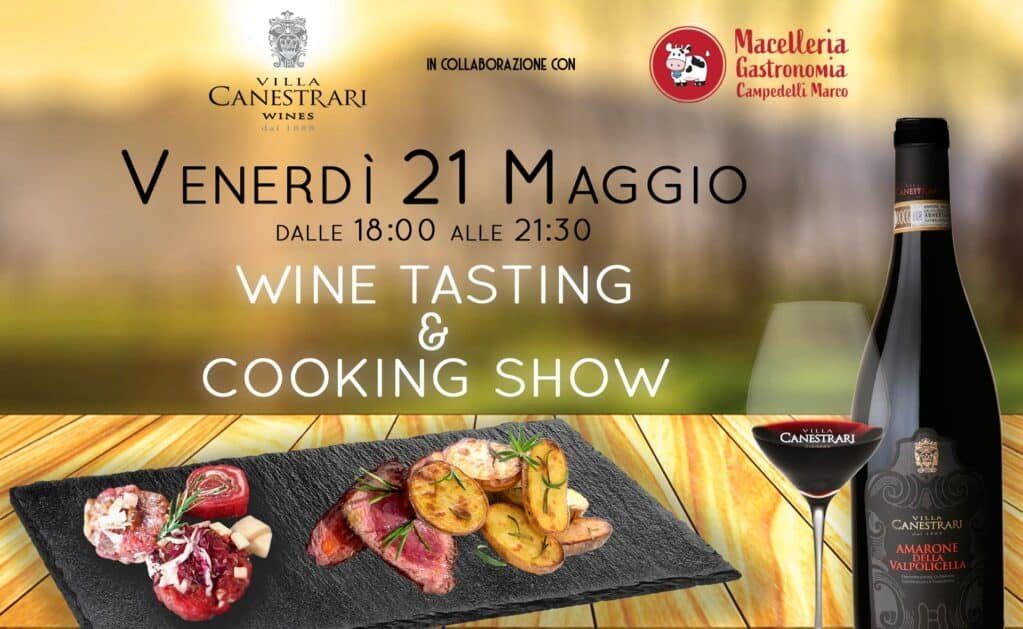 Wine Tasting & Cooking Show